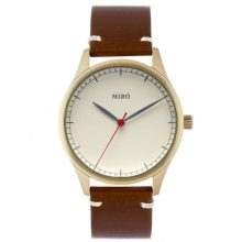 creme dial watch
